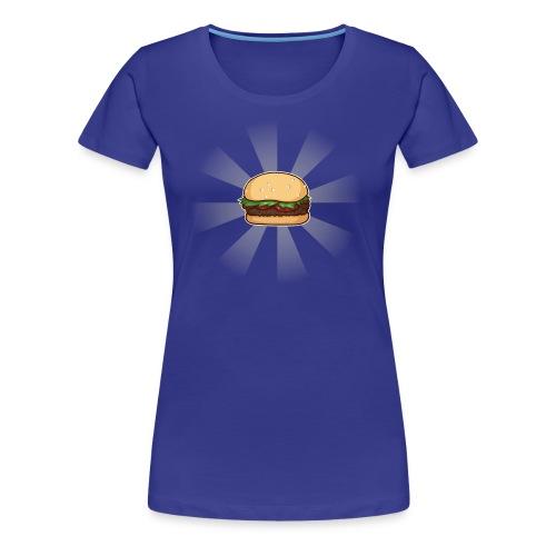Space Burger (F) - Women's Premium T-Shirt