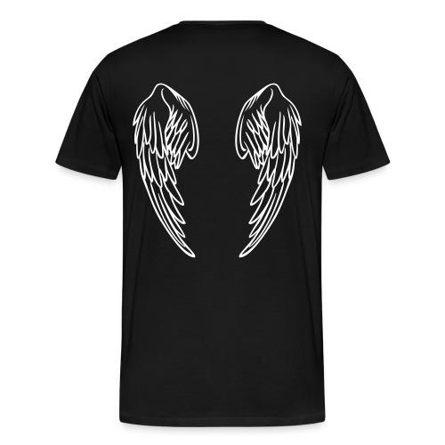 Holistic [NOT A DESIGNER] Black Men's T-shirt - Men's Premium T-Shirt