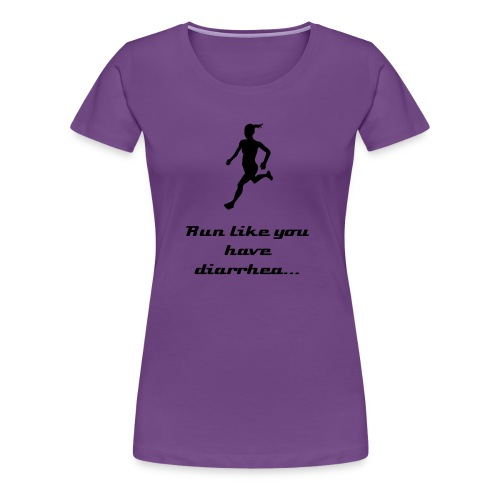 Run! Women's tee - Women's Premium T-Shirt