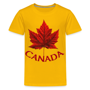 Kid's Canada Souvenir T-shirt Maple Leaf Kid's T-shirt - Kids' Premium T-Shirt