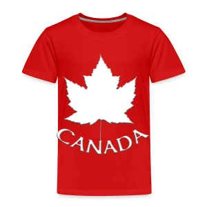 Baby Canada Souvenir T-shirt Maple Leaf Toddler T-shirt - Toddler Premium T-Shirt