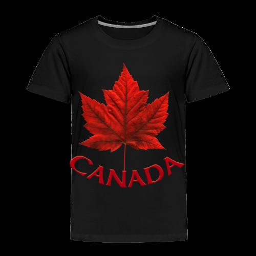 Baby Canada Souvenir T-shirt Toddler Canada T-shirt - Toddler Premium T-Shirt