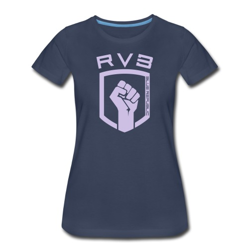 Womens Blue - Chest - Women's Premium T-Shirt