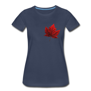 Women's Canada T-shirt Souvenir Canadian Plus Size Ladies Shirt - Women's Premium T-Shirt