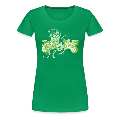 Just My Style on Green - Women's Premium T-Shirt