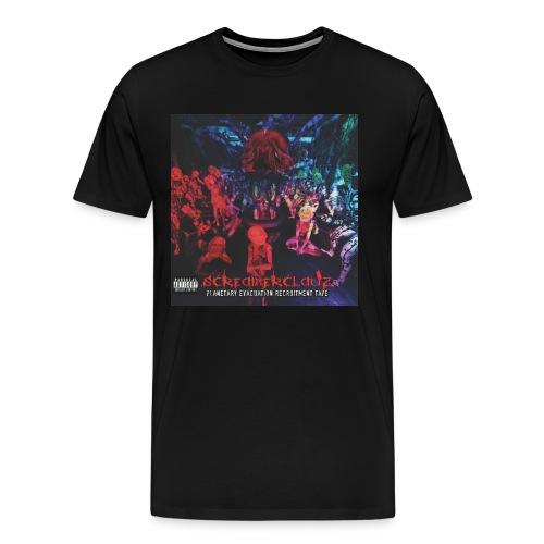 Planetary Evacuation Recruitment Tape Heavy Shirt - Men's Premium T-Shirt