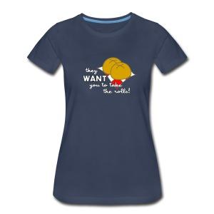 Women's Boy Meets Rolls - Women's Premium T-Shirt