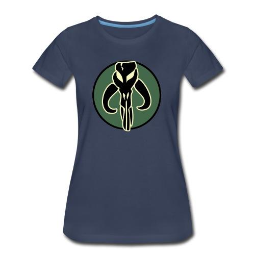 Boba Fett Logo - Women's Premium T-Shirt