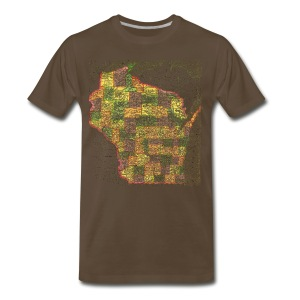 Wisconsin 1895 - Men's Premium T-Shirt