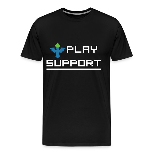 I Play Support - Men's Premium T-Shirt