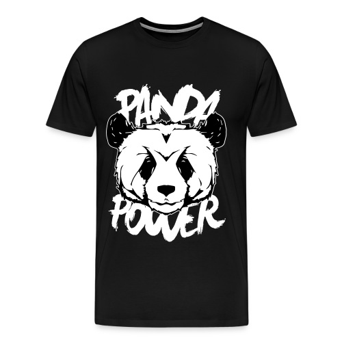Panda Power Tee - Men's Premium T-Shirt