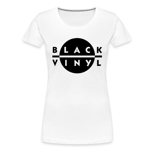 Black Vinyl New Logo Women's Plus Size - Women's Premium T-Shirt