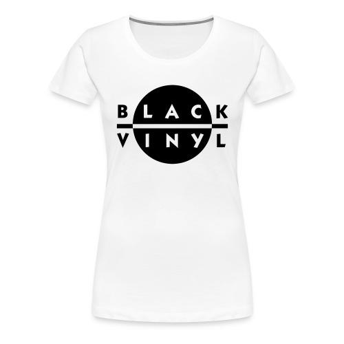 Black Vinyl New Logo Women's Plus Size - Women's Premium T-Shirt