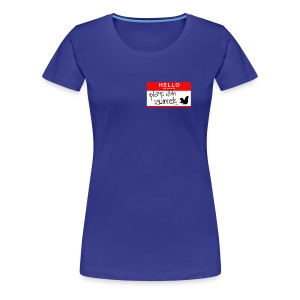 Women's Plays with Squirrels - Women's Premium T-Shirt