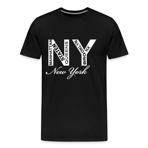 New York Men T-shirt - Men's Premium T-Shirt