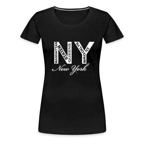 New York Women T-shirt - Women's Premium T-Shirt