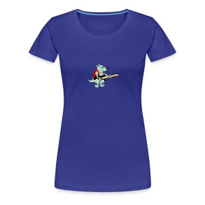 Guitar Dog - Women's - Women's Premium T-Shirt