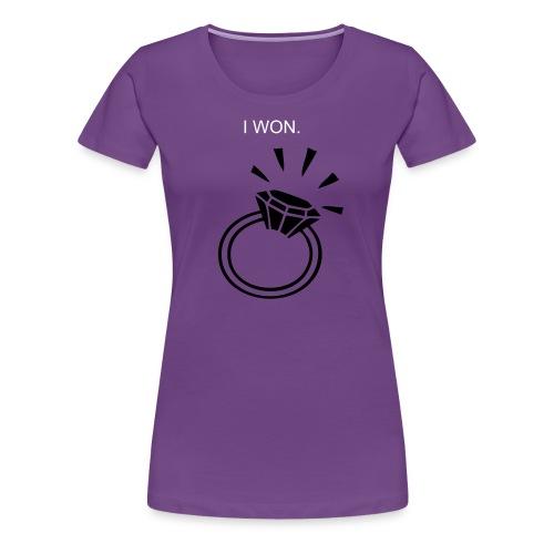 I won - Women's Premium T-Shirt