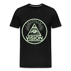 Vision Tee (Glow) - Men's Premium T-Shirt