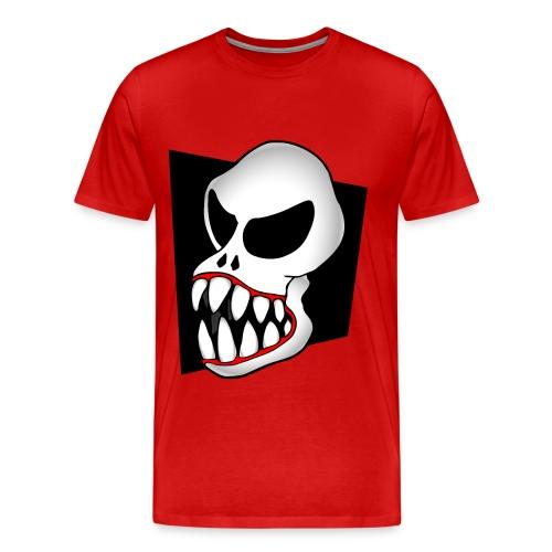 Monster Skull Men's T - Men's Premium T-Shirt