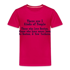 Three Kinds of People - Toddler Premium T-Shirt