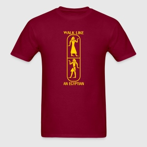 Walk like an Egyptian T-shirts (manches courtes) - T-shirt pour hommes