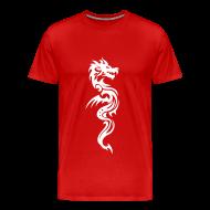 T-Shirts ~ Men's Premium T-Shirt ~ Dragon Tribal