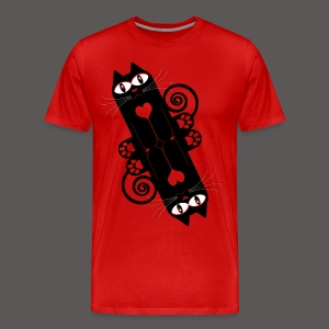 LOVE CAT  2 - Men's Premium T-Shirt