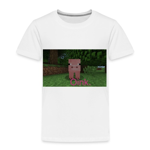 Minecraft Pig Shirt - Toddler Premium T-Shirt