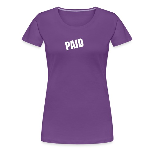PAID Women's - Women's Premium T-Shirt
