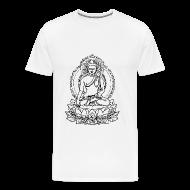 T-Shirts ~ Men's Premium T-Shirt ~ Buddha Lotus Seat
