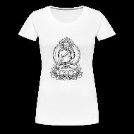 Women's T-Shirts ~ Women's Premium T-Shirt ~ Buddha Lotus Seat