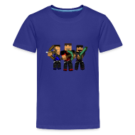 Kids' Shirts ~ Kids' Premium T-Shirt ~ Become A Miner!