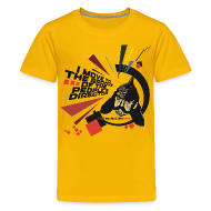 Kids' Shirts ~ Kids' Premium T-Shirt ~ I move to the groove of the People's Director - kids shirt
