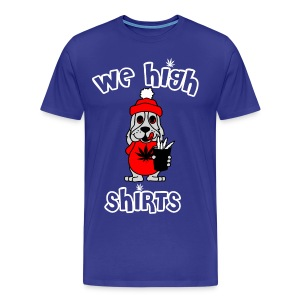 We High Shirts Slush Puppy Logo  - Men's Premium T-Shirt