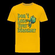 T-Shirts ~ Men's Premium T-Shirt ~ Don't Lose Your Dinosaur Stepbrothers