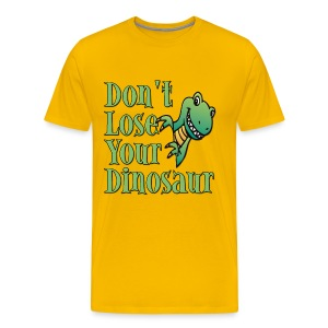 Don't Lose Your Dinosaur Stepbrothers - Men's Premium T-Shirt