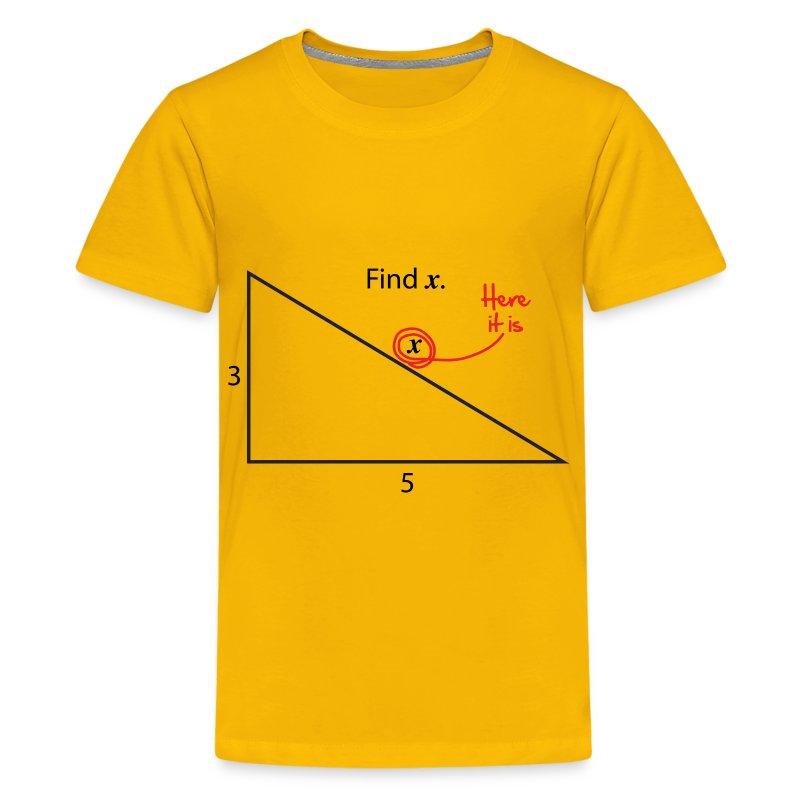 Find X T-Shirt   Spreadshirt