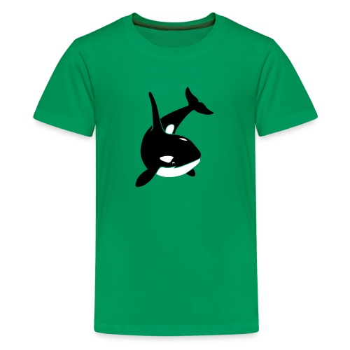 animal t-shirt orca orka killer whale dolphin blackfish - Kids' Premium T-Shirt