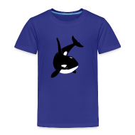 Baby & Toddler Shirts ~ Toddler Premium T-Shirt ~ animal t-shirt orca orka killer whale dolphin blackfish