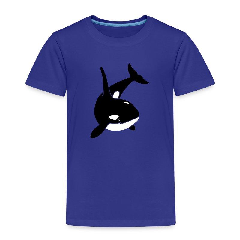 animal t-shirt orca orka killer whale dolphin blackfish - Toddler Premium T-Shirt