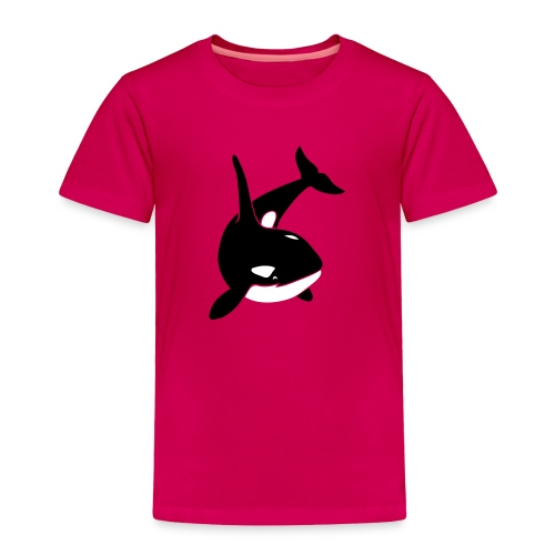 animal t-shirt orca orka killer whale dolphin blackfish - Toddler Premium T-Shirt