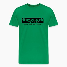 Vegan Live And Let Live T-Shirt