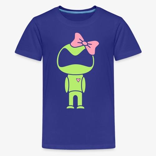 Droid Girl - Kids' Premium T-Shirt