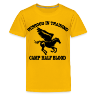 Kids' Shirts ~ Kids' Premium T-Shirt ~ DEMIGOD IN TRAINING Pegasus Half-Blood Kids T-Shirt