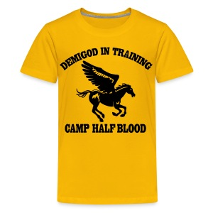 DEMIGOD IN TRAINING Pegasus Half-Blood Kids T-Shirt - Kids' Premium T-Shirt