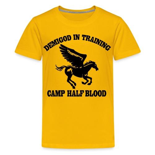 DEMIGOD IN TRAINING Pegasus Half-Blood Kids T-Shirt - Kids' Premium T-Shirt