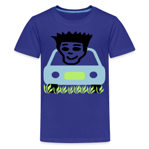 Cruzing in the yard - Kids' Premium T-Shirt