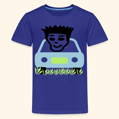 Cruzing in the yard - Kids' Premium T-Shirt