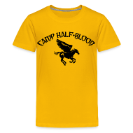 Kids' Shirts ~ Kids' Premium T-Shirt ~ CAMP Pegasus Half-Blood Kids T-Shirt